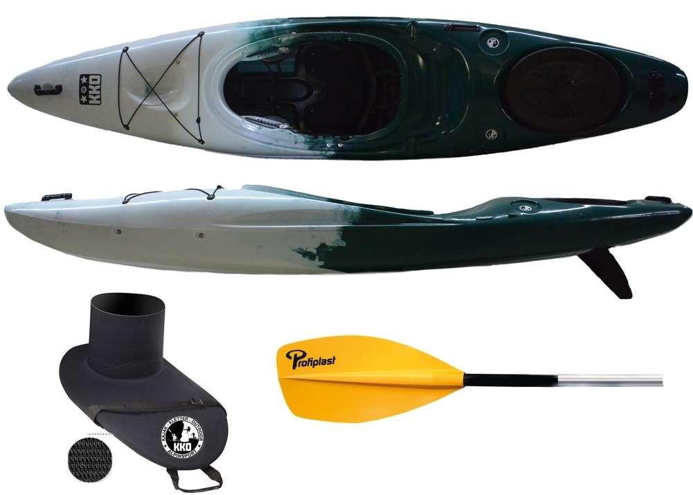 Kajaks Zweier Faltboot paddelboot ohne paddel